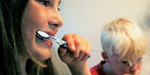 Children Brushing Teeth - Family Dentistry - Chambers Bridge Dental - Cottage Grove Oregon