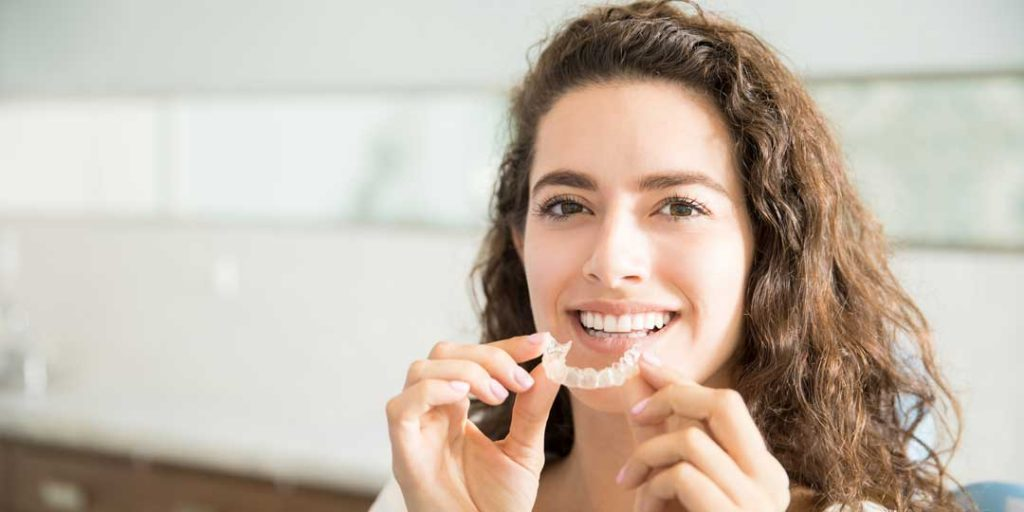 Clear Braces Available at Chambers Bridge Dental to easily straighten your smile.
